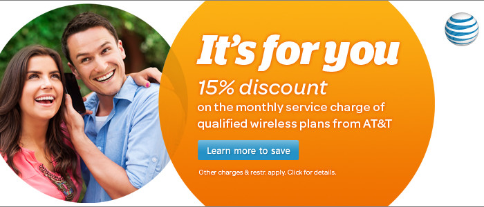 AT&T Federal Employee Discount at GovernmentShopping.com