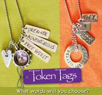 Token Tags are personalized gifts that giveback everyday.